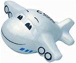 Mini Jumbo Plane Stress Balls